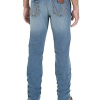 Wrangler Retro Men's Gladewater Wash Slim Fit Straight Leg Jean- Limited Edition
