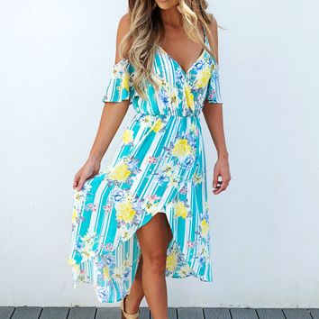 Over Now Dress: Multi