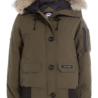 Canada Goose - Chilliwack Down-Filled Bomber Jacket with Fur Trim