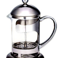 Polished Stainless Steel 8 Cup French Press