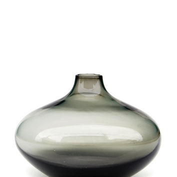 Smoked Glass Bud Vase