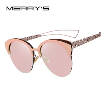 Women's Oversized Cateye Frame Sunglasses 6 Colors