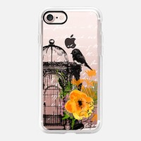 Be Free iPhone 7 Capa by Li Zamperini Art | Casetify