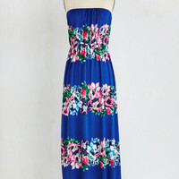 Long Strapless Maxi Garland That I Love Dress by ModCloth