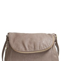 Big Buddha 'Jarianna' Faux Leather Messenger Bag