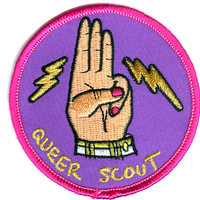 Justseeds: Mary Tremonte: Queer Scout Badge