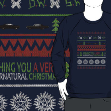 Supernatural Christmas Sweater by katstpete