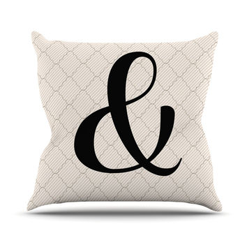 "KESS Original ""Amperstamp"" Outdoor Throw Pillow"