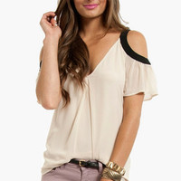 Amelie Cold Shoulder Top $33 (on sale from $48)