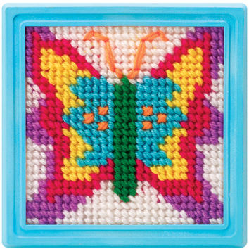 simply needlepoint kits - butterfly
