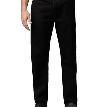 Levi'S Black Regular-Fit 505; Jeans - Smart Value