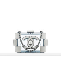Plexiglas minaudiere with a... - CHANEL