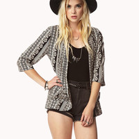 Open-Front Baroque Jacket | FOREVER 21 - 2037379646