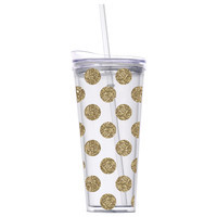 Golden Style Hot/Cold Travel Mug