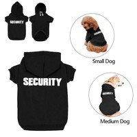 Security Dog Hoodie Funny