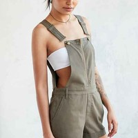BDG Utility Zip-Front Shortall Overall