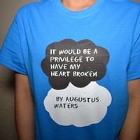 Augustus Waters Shirt from Teenage Apparel