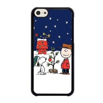 CHARLIE BROWN PEANUTS COMICS SNOOPY iPhone 5C Case
