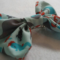"It's a Shore Thing"" nautical inspired hair bow, perfect for all ages"