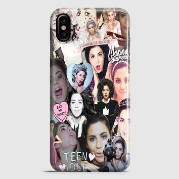 Marina And The Diamonds iPhone X Case