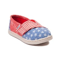 Toddler TOMS Classic Stars & Stripes Casual Shoe