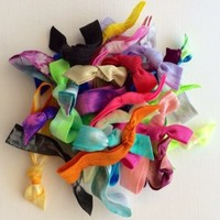 30 Assorted Hair Ties Ponytail Holders by Elastic Hair Bandz