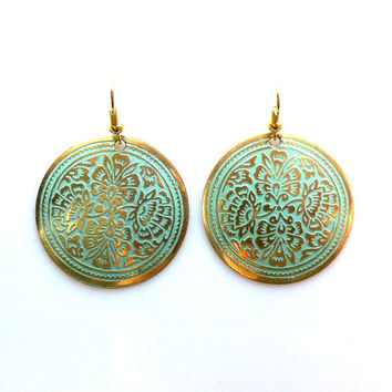 Boho Floral Earrings