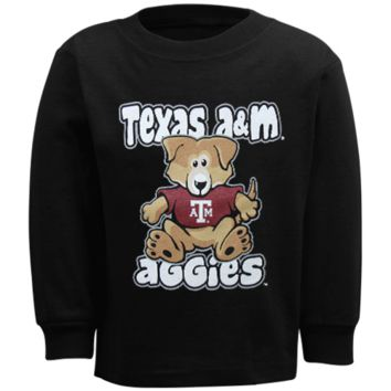 Texas A&M Aggies Infant Stacker Long Sleeve T-Shirt - Black - http://www.shareasale.com/m-pr.cfm?merchantID=7124&userID=1042934&productID=528483357 / Texas A&M Aggies