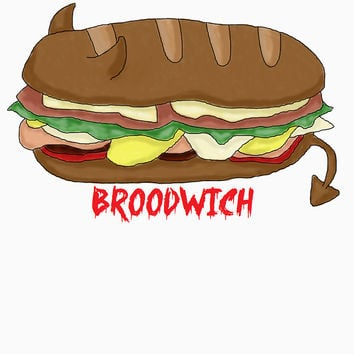 'The Broodwich' Classic T-Shirt by AMBArts