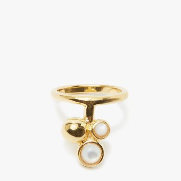 Lizzie Fortunato / Cluster Ring in Pearl