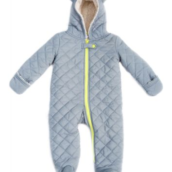 Little Bear Quilted Baby Snowsuit