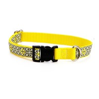 Seeing Stars Pattern Dog Collar