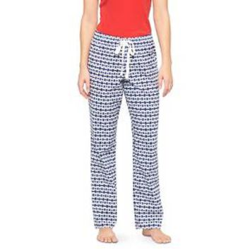 Women's Woven Sleep Pant Quiet Blue Tile - Gilligan & O'Malley™
