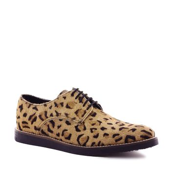 ASOS | ASOS Derby Shoes With Leopard Print at ASOS