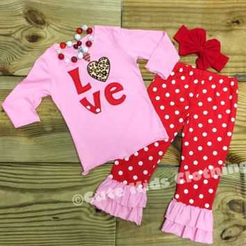 Pink Valentine Love Outfit
