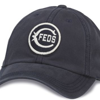 Men's Chicago Federals 1914 Navy New Timer Slouch Adjustable Hat, American Needle
