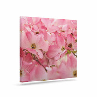 "Sylvia Cook ""Pink Dogwood"" Floral Photography Canvas Art"