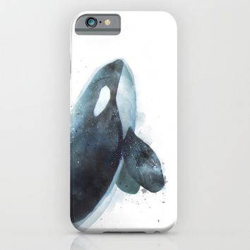Orca iPhone & iPod Case by Amy Hamilton