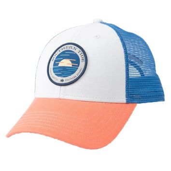 e982eced Circle Horizon Patch Trucker Hat by Southern Tide
