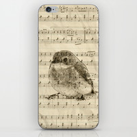 Songs of Birds iPhone & iPod Skin by Nirvana.K