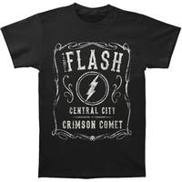 Flash Men's  Crimson Comet T-shirt Black