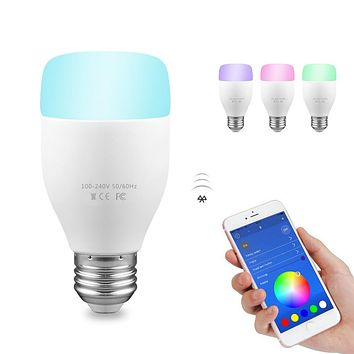 WiFi Smart Bulb LED Light Support Remote Control / E* Voice Control