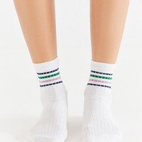 Out From Under Sparkle Stripe Tube Sock | Urban Outfitters