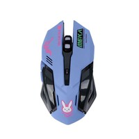 Overwatchs Breathing LED Backlit Gaming Mouse D.VA Genji Reaper Wired USB Computer Mouse for PC& Mac E-sports Gamers