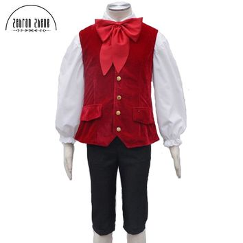 Custom Made Movie Beauty and the Beast Lefou Cosplay Costumes Men Outfit Halloween Carnival Clothing Costume