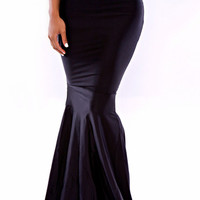 High Waist Bodycon Mermaid Skirt