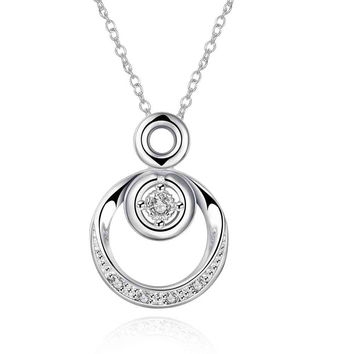 silver collar necklace Double circle tattoo choker prices in euros 824 MP