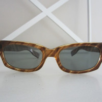 Vintage 60's Tortoiseshell Glasses 1960's Eyewear cat eye