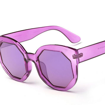 Colored Film Sunglasses