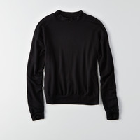 Don't Ask Why Mock Neck Sweatshirt, Natural